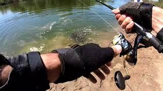 Трофейная рыбалка на джиг на реке Нура, Карагандинская область, Казахстан