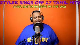 Deshan Styler Naidoo Smashes 17 Tamil Hits Over Justin Biebers Im The One