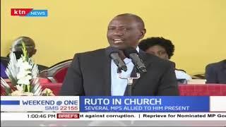 DP Ruto attends church service at PCEA, Nairobi West
