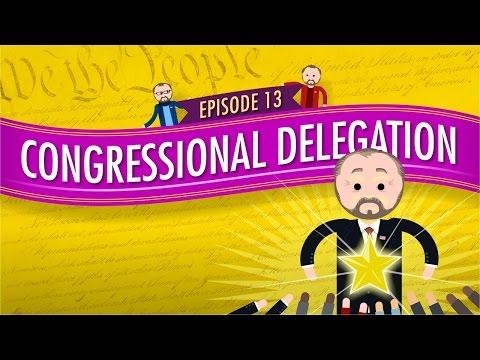 Congressional Delegation: Crash Course Government and Politics #13