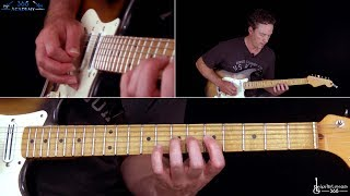 Aces High Guitar Lesson (Solos) - Iron Maiden