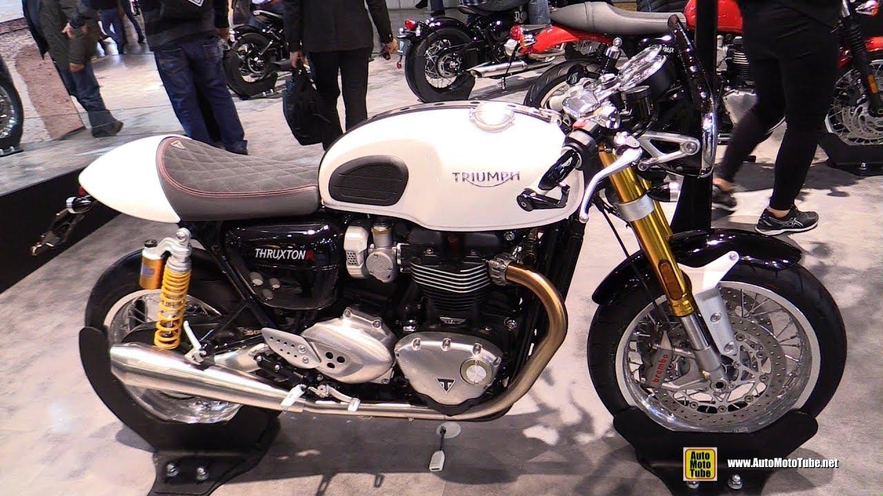 2018 triumph thruxton 1200 r walkaround 2017 eicma milan motorcycle exhibition youtube. Black Bedroom Furniture Sets. Home Design Ideas