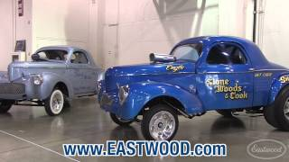Stone Woods & Cook Willys Drag Race Cars at Hot Rod 65th Anniversary from Eastwood
