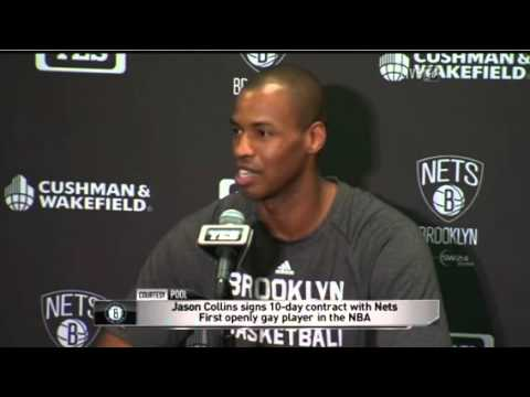 Jason Collins Nets press conference