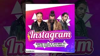 Gambar cover Dimitri Vegas & Like Mike vs David Guetta & Afrobros - Instagram (Original Mix) [FREE DOWNLOAD]