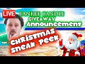 LIVE - Yankee Candle GIVEAWAY Announcement & CHRISTMAS 2018 Sneak Peek!