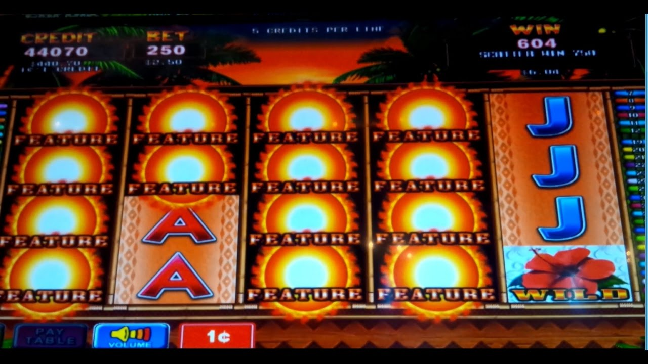 Tiki Slot Machine