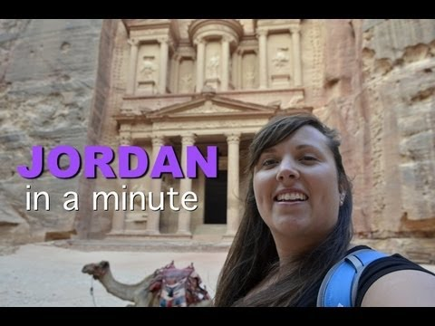 Visiting the country of Jordan In a Minute