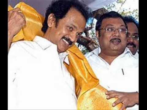 Alagiri or Stalin whom to lead DMK Party? .wmv