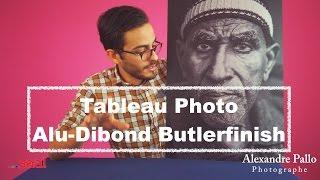 Test: Tableau Photo Alu-Dibond Butlerfinish Saal-Digital