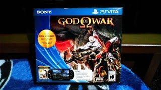 Nuevo PS Vita Slim | + God of War Collection | Unboxing En Español Thumbnail