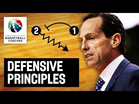 Defensive principles - Kenny Atkinson - Basketball Fundamentals