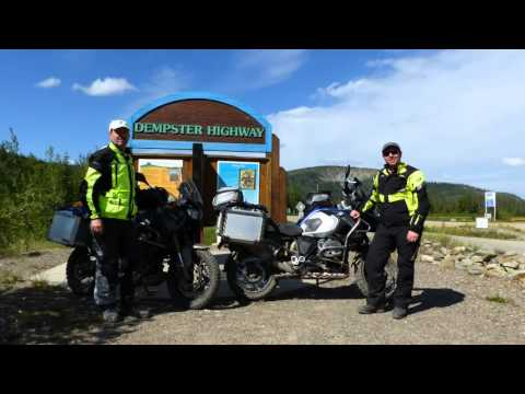 Arctic Circle: Part 5 - North on the Dempster - with Music!
