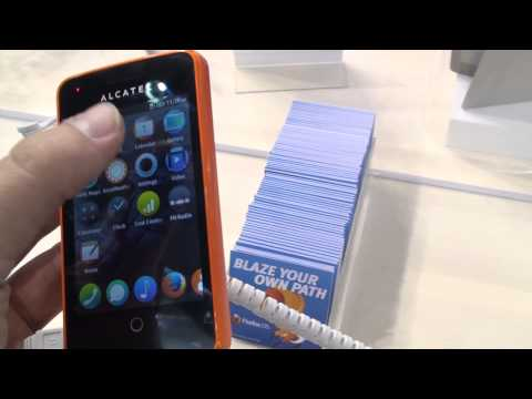 Alcatel One Touch Fire [MWC 2013]