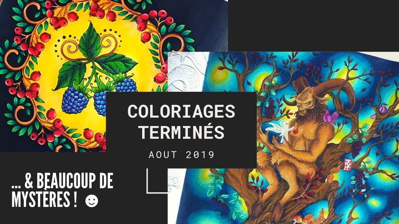 Coloriages Terminés  Août 23 - YouTube  Coloriage, Classique