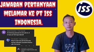 Jawaban pertanyaan cara melamar pt iss indonesia lewat online||2021 work