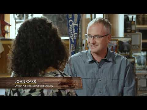 John Carr Talks Local at Adirondack Pub & Brewery