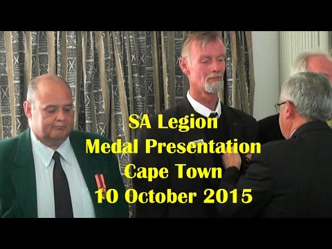 SA Legion Medal Presentation