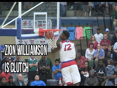 Zion Williamson Is CLUTCH! Drops 37 Points And 14 Rebs In St