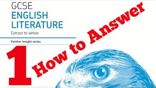 How to Answer the Extract Question AQA Literature Paper 1 8702