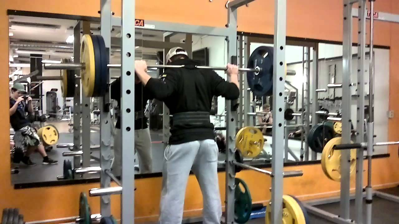 15 Years Old Bodybuilder Squat 130kg 286 Pounds