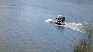 46cc Rc airboat , Lake sarah