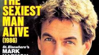 """The Sexiest Man Alive"" of 1986 Mark Harmon"