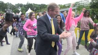 Taoiseach Enda Kenny Dances To