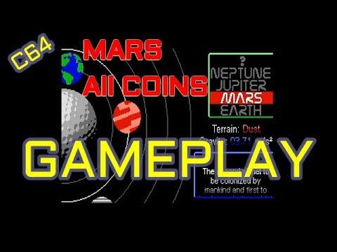 C64 Planet Golf Mars Gameplay - All Coins Achievement