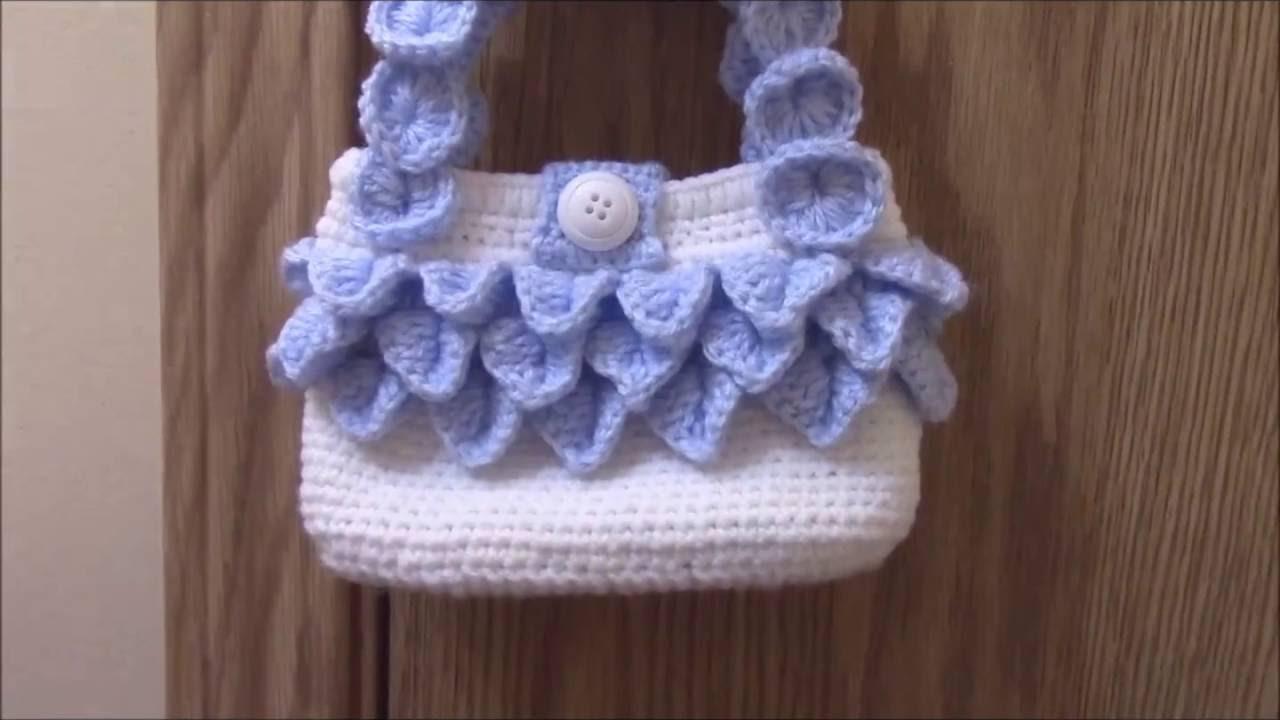 How to crochet crocodile stitch handbag. - YouTube 2a032a78266a0