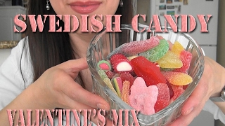 ASMR: Swedish Candy | Valentine