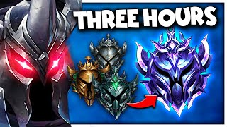 THIS is how y๐u CLIMB to DIAMOND in 3 HOURS...with MORDEKAISER ONLY