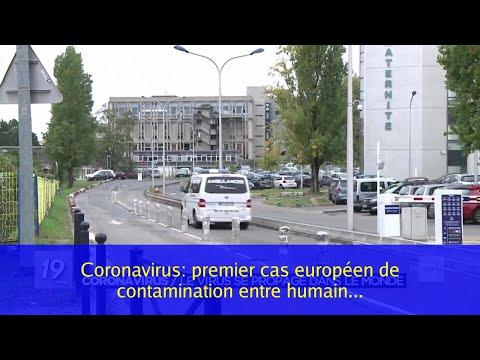 Coronavirus: premier cas européen de contamination entre humains en Allemagne