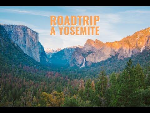 VLOG 1 - ROAD TRIP À YOSEMITE