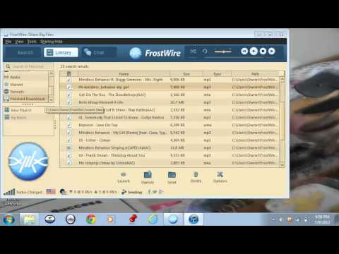 How to transfer music from Frostwire to iTunes