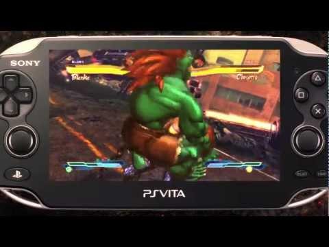 全新未拆 PSV VITA 快打旋風 X 鐵拳(含12名追加角色包下載卡) -英日文美版- SF X Tekken