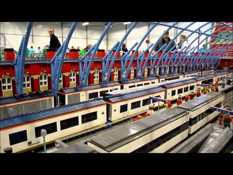 Lego World 2012 Copenhagen Train Layout
