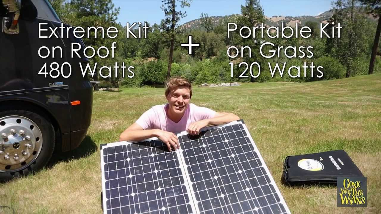 Luxury RV Solar Power Setup  YouTube