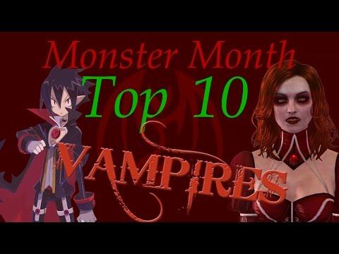 Top Ten Video Game Vampires