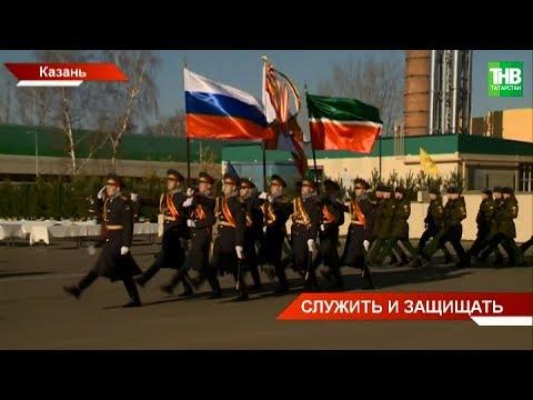 В Казанском танковом командном училище - выпускной: более ста офицеров получают дипломы и погоны