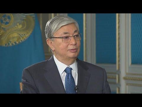 President of Kazakhstan took EU advice on political transformation - Euronews exclusive