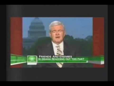 Newt Gingrich Criticizes Obama on Hugo Chavez Greeting