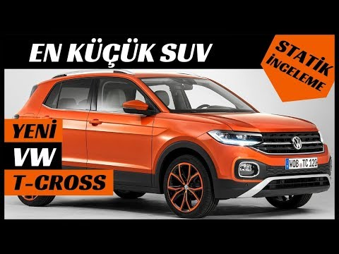 New VW T-Cross 2019 Full Details and Review