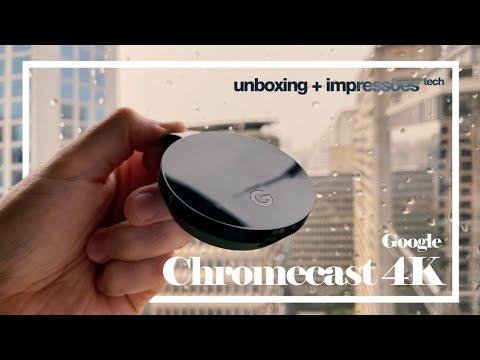 CHROMECAST ULTRA 4K - UNBOXING, REVIEW E INSTALAÇÃO!!