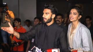 ANGRY Ranveer & Deepika INSULT Reporter For Ask...