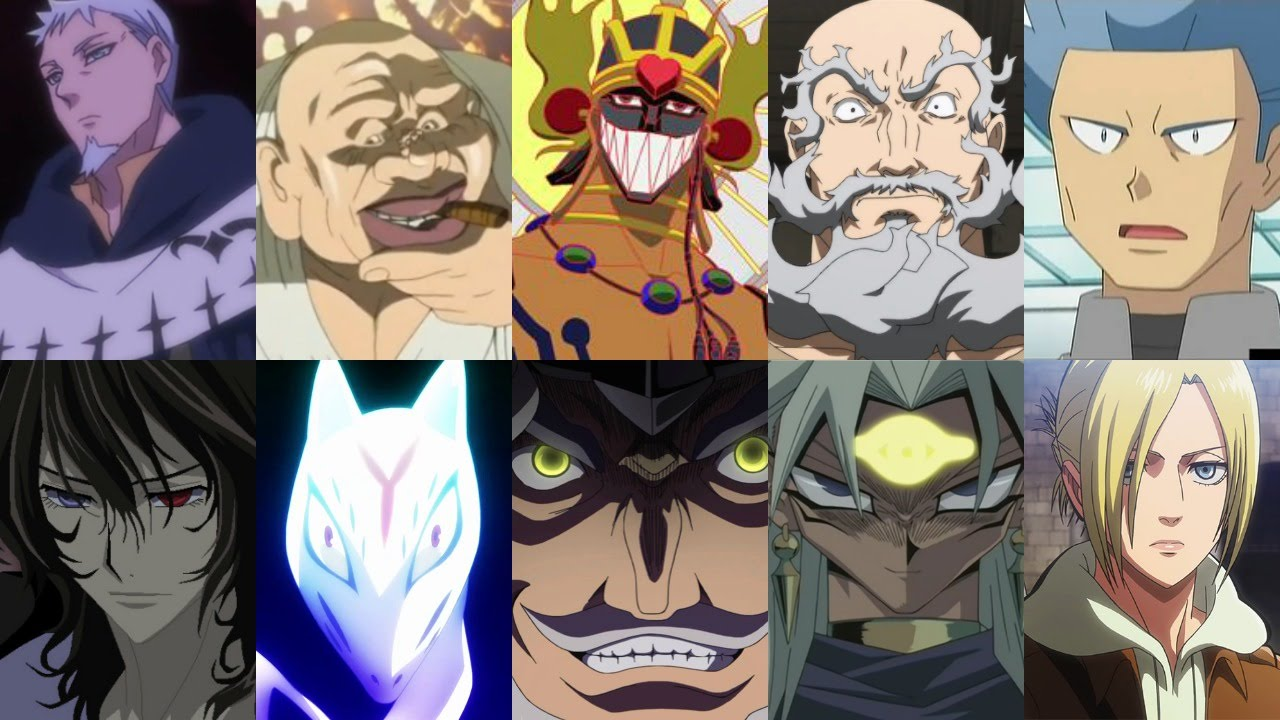 Defeats of my favorite anime villains part iv youtube