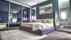20 Beautiful Bedrooms with Mirrors Above Night Stands