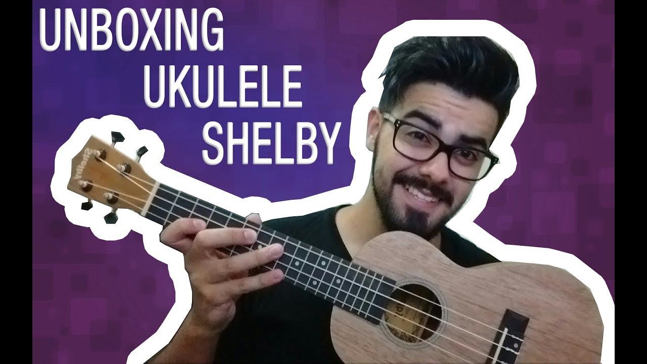 Ukulele Concert Shelby Unboxing - VALE A PENA? #1