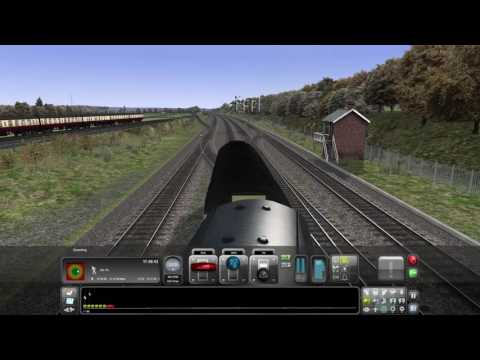 Train Simulator 2016. Cambridge to London  Kings Cross. Part 2
