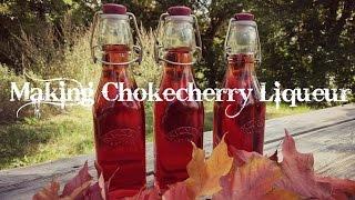 Chokecherry Liqueur